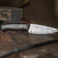 Damastmesser Damasteel Knife